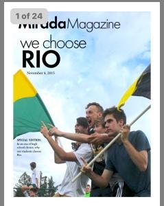 Rio Mirada Magazine